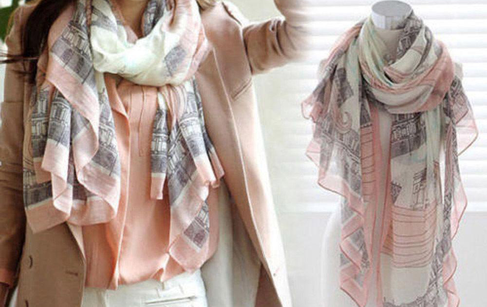 The Scarf – How to wear  a girl's best friend (and accessory!)