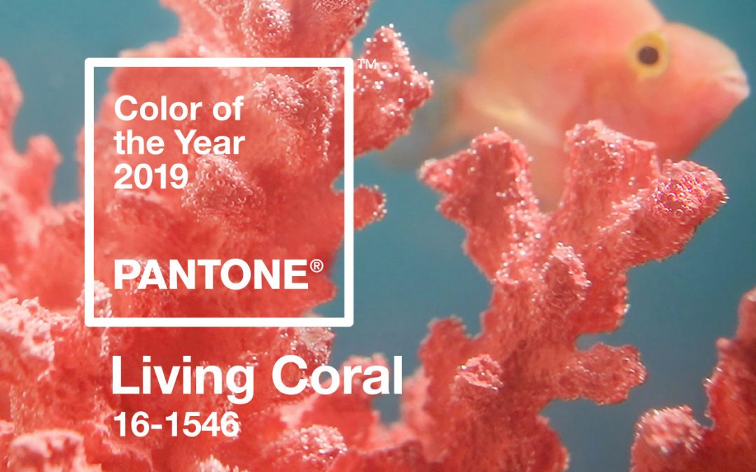 Pantone's Living Coral –  jazz up your wardrobe and home